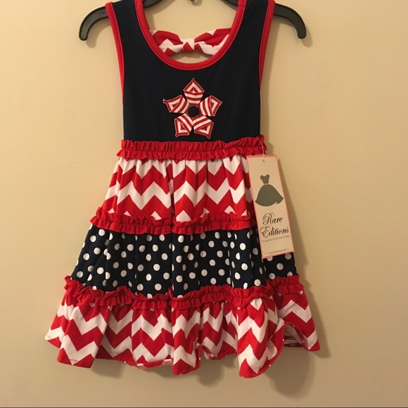 14e046a3cce88 Rare Editions Dresses | Nwt Toddler 4th Of July Dress 2t | Poshmark